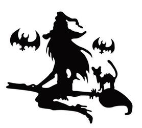 Wykrojnik Czarownica Halloween (3048-I2)