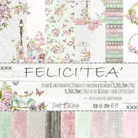 Zestaw papierów 15x15cm - FELICI'TEA'