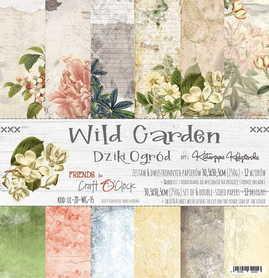 Zestaw papierów 30x30cm - WILD GARDEN
