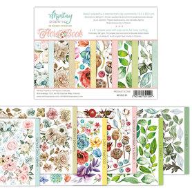 Zeszyt elementów do wycinania Flora Book 15,2 x 20,3 cm