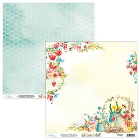 Papier MINTAY 30,5 cm x 30,5 cm Farmlife 01