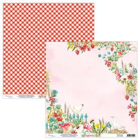 Papier MINTAY 30,5 cm x 30,5 cm Farmlife 02