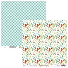 Papier MINTAY 30,5 cm x 30,5 cm Farmlife 05