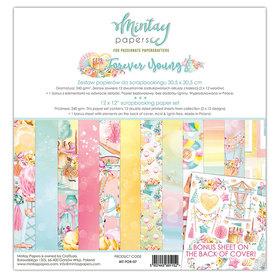 Zestaw papierów 30x30 - Mintay - Forever Young