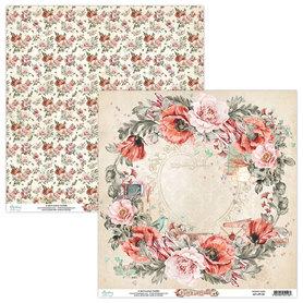 Papier MINTAY 30,5 cm x 30,5 cm Love Letters 02