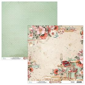 Papier MINTAY 30,5 cm x 30,5 cm Love Letters 03