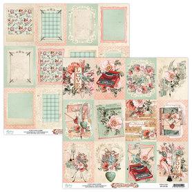 Papier MINTAY 30,5 cm x 30,5 cm Love Letters 06