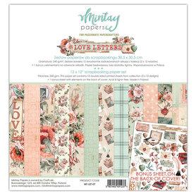Zestaw papierów 30x30 - Mintay - Love Letters