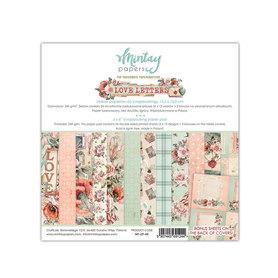 Zestaw papierów 15x15 - Mintay - Love Letters
