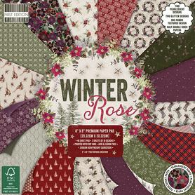 (291X19) Zestaw papierów Winter Rose 20x20cm