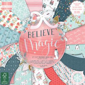 (216X19) Zestaw papierów Believe in Magic 20x20cm