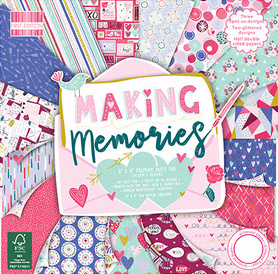 (FEPAD210) Zestaw papierów Making Memories 20x20cm