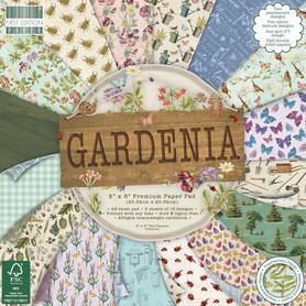 (FEPAD204) Zestaw papierów Gardenia 20x20cm