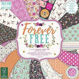 (FEPAD201) Zestaw papierów Forever Free 20x20cm