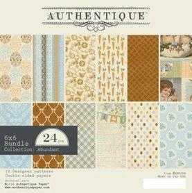 Zestaw papierów Authentique Abundant 15x15 cm