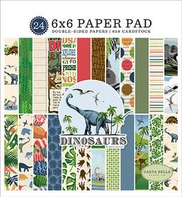 Papiery Carta Bella - Dinosaurs  15x15cm