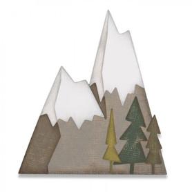 Wykrojnik Sizzix Thinlits - 7PK Alpine Item 664225