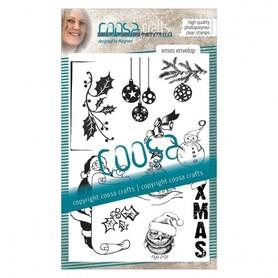 Stemple silikonowe A6  #17 Xmas envelope