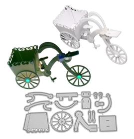 Wykrojnik Rower 3D (1347-M3)