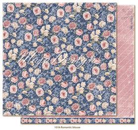Arkusz 30x30cm Denim & Girls - Romantic blouse
