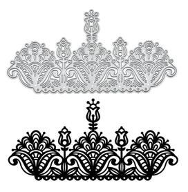 Wykrojnik - Ornament ażurowy (664-F3)