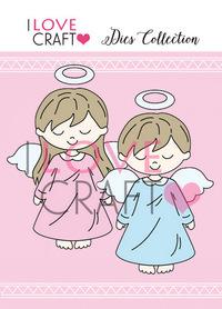 D027 Wykrojnik ILC - Aniołki - Angels
