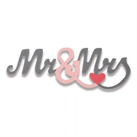 661793 Wykrojnik Sizzix Mr & Mrs #2