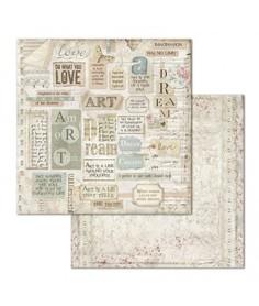 Arkusz 30x30 Stamperia Dream Writings (SBB672)