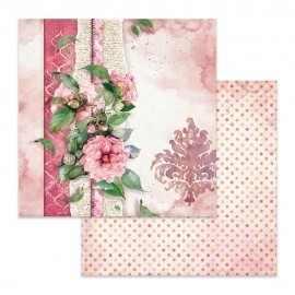 Arkusz 30x30 Stamperia Flowers For You Pink SBB644