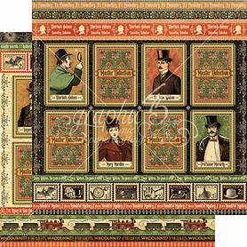 (4501565) Arkusz papieru Graphic 45 - 30x30cm