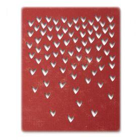 Wykrojnik Sizzix - Falling Hearts 664415
