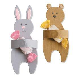 Wykrojnik Sizzix - Bunny & Bear Hugs 663452