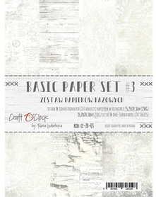 (COC) Zestaw papierów BAZOWYCH - 03 - 15,25x20,3cm