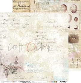 (COC) Arkusz papieru 30x30cm - HUMMINGBIRD SONG 01