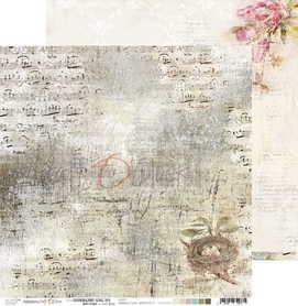(COC) Arkusz papieru 30x30cm - HUMMINGBIRD SONG 03