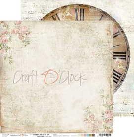 (COC) Arkusz papieru 30x30cm - HUMMINGBIRD SONG 06