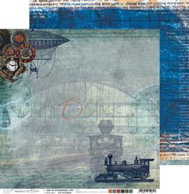 (COC) Arkusz papieru 30x30cm  AGE OF TECHNOLOGY 01