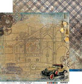(COC) Arkusz papieru 30x30cm AGE OF TECHNOLOGY 02