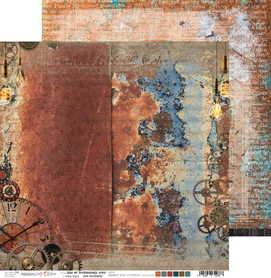 (COC) Arkusz papieru 30x30cm AGE OF TECHNOLOGY 04