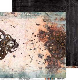 (COC) Arkusz papieru 30x30cm AGE OF TECHNOLOGY 05
