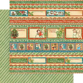 (4501733) Arkusz papieru Graphic 45 - 30x30cm