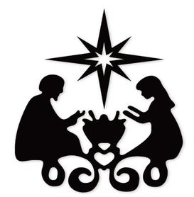 Wykrojnik Rodzina Święta Żłóbek (3443-O3)
