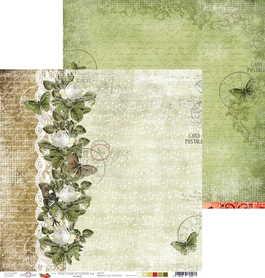 (COC) Arkusz papieru 30x30cm - HERITAGE STORIES 04