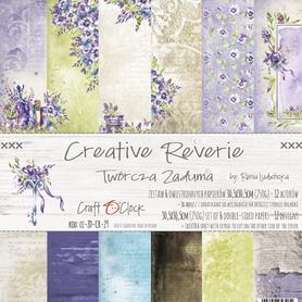 Zestaw papierów 30x30cm - CREATIVE REVERIE