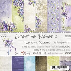 CREATIVE REVERIE - zestaw papierów 15,25x15,25cm