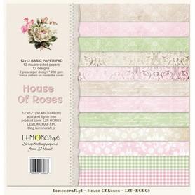 LC Bloczek papierów bazowych - Dom Róż HOR03
