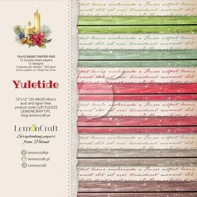 LC Bloczek papierów bazowych - Yuletide YULE02