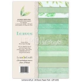 LC Zestaw papierów bazowych  A4 - Liście 01