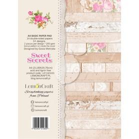 LC Zestaw papierów bazowych A4 - Sweet Secrets