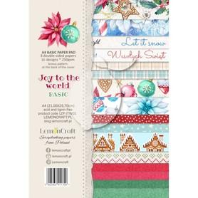 LC Zestaw papierów bazowych A4 - Joy to the world